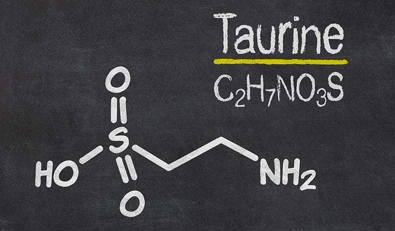taurine molecule structure